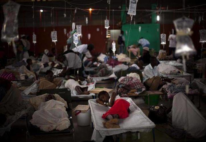 Tan solo en Kano, Nigeria, se han registrado dos mil 165 casos de enfermos de cólera. (Agencias/Foto de contexto)