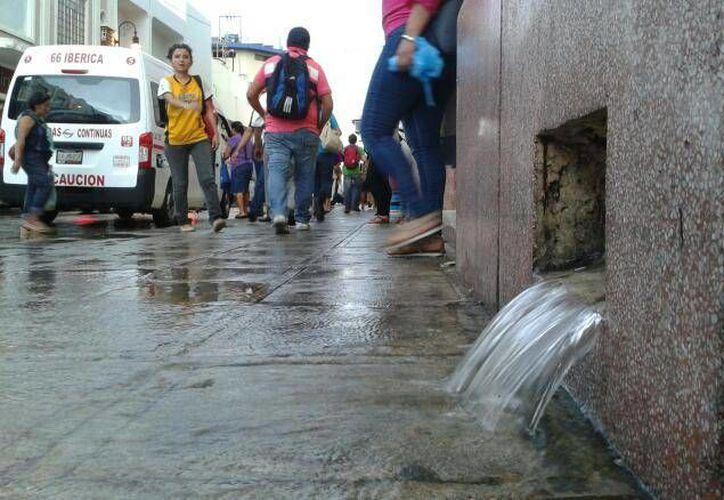 Llovió este jueves y lloverá viernes, sábado y domingo en Yucatán, de acuerdo a pronósticos de la Conagua. (Guadalupe Osorno /Milenio Novedades)