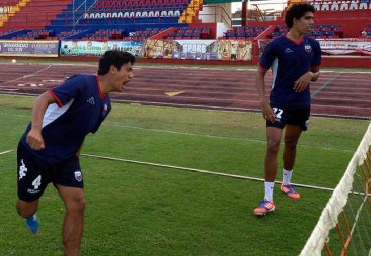 Atlante volvió este viernes a los trabajos tras disputar la final de la Copa MX. (Redacción/SIPSE)