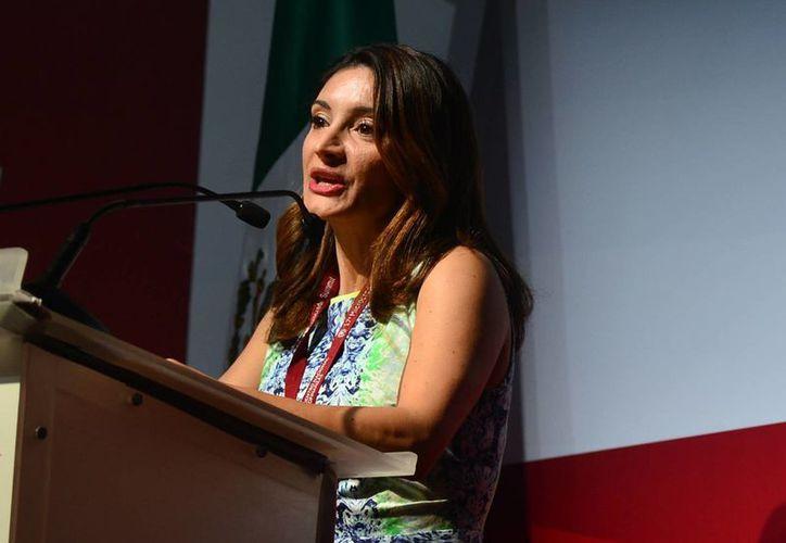 Elenitza Canavati Hadjópulos, coordinadora del Pronafim, señaló que el reto será hacer llegar los crédito a las comunidades rurales. (Milenio Novedades)