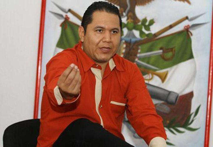 Erick Ulises Ramírez Crespo ya había sido detenido en octubre del año pasado cuando comía con unos de los principales líderes del cártel de Guerreros Unidos. (Héctor Téllez/Milenio)