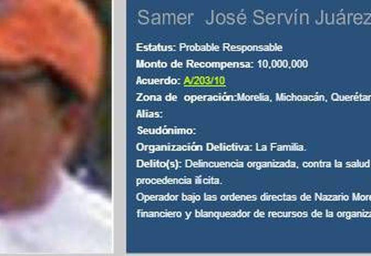 El narcotraficante murió en un hospital privado de Morelia; su familia pretendía ocultar el deceso. (PGR)