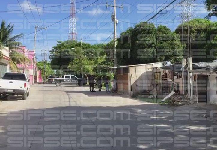 Vecinos de la Región 230 reportaron el hecho alrededor de las 16:30 horas. (Redacción/SIPSE)