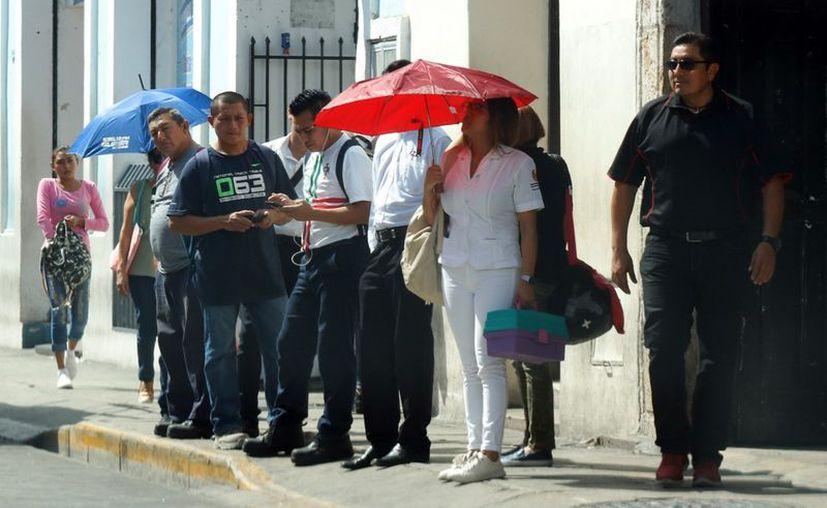 Las temperaturas máximas alcanzarán entre los  35 a 40 grados centígrados en Yucatán. (Novedades Yucatán)