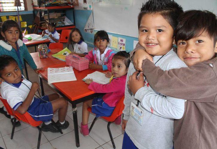 Cozumel será el único municipio que no modificará la hora de entrada a los planteles escolares. (Sergio Orozco/SIPSE)