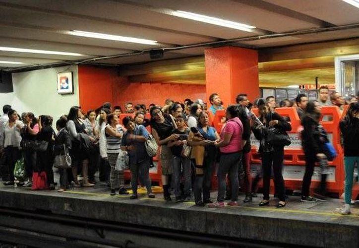 Para algunas mujeres, el sistema de vigilancia en el Metro de la Ciudad de México debería ser permanente. (Milenio)