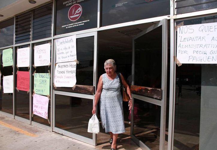 La dirección del hospital regional del Issste en Pensiones y el sindicato  aseguran que las gestiones a nivel nacional han sido exitosas y a partir del lunes, los empleados comenzará a recibir sus pagos atrasados. (SIPSE)