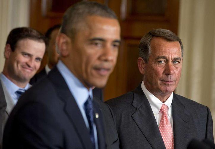 El presidente de Estados Unidos, Barack Obama, durante un evento este martes en la oficina Este de la Casa Blanca. (Foto: AP)