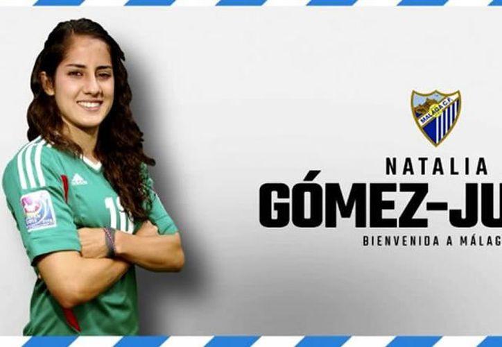 Natalia Gómez-Junco fue fichada por el Málaga CF Femenino. (Twitter)