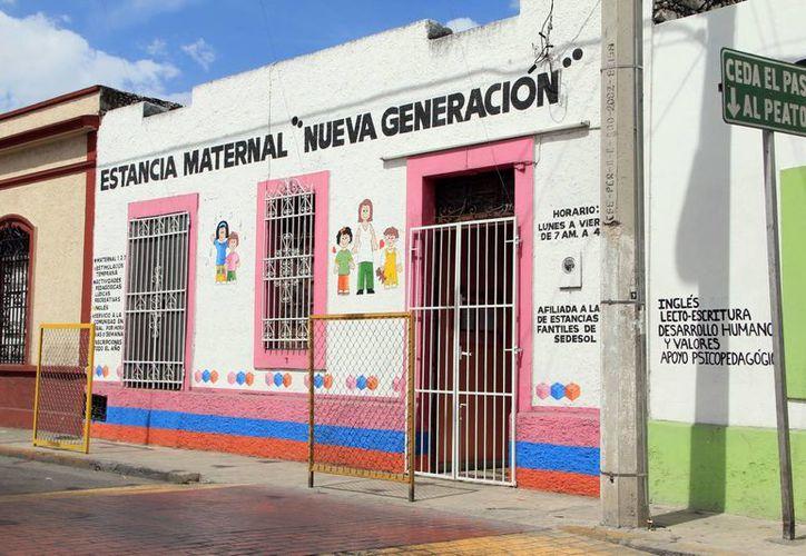 En marzo comenzará la Sedesol la inspección de las 210 guarderías que apoya en el Estado. (José Acosta/SIPSE.com