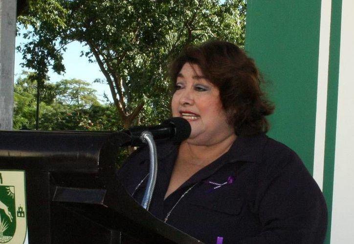 Rosario Cetina Amaya,  titular del Instituto de Equidad y Género de Yucatán. (SIPSE)