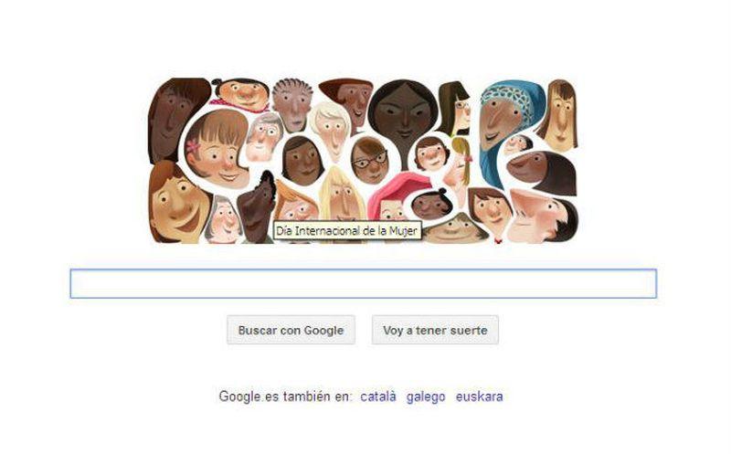 Doce historias que dan voz a las mujeres: el doodle de hoy
