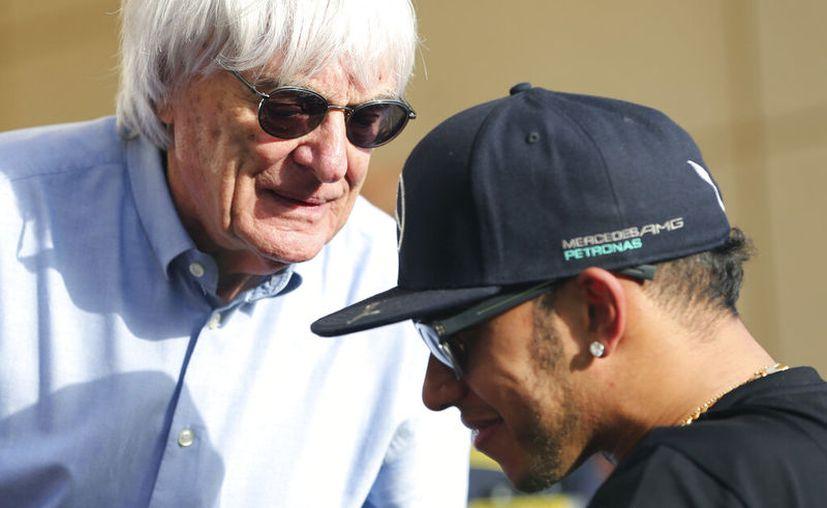 Bernie Ecclestone, ex líder de la F1, prefirió no abundar en los detalles de las evidencias que respaldaran su opinión. (Foto: AP)
