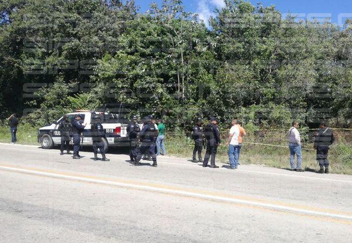 Los cuerpos fueron encontrados en la avenida Huayacán. (Archivo/ SIPSE)