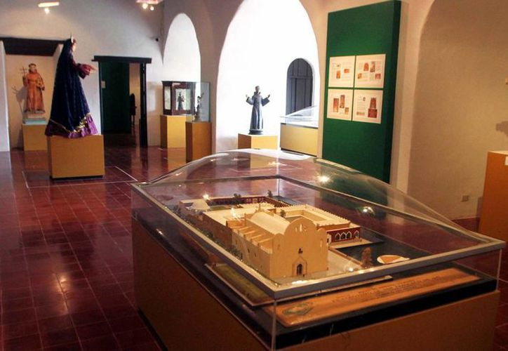 La Galería de Arte Sacro de la Arquidiócesis de Yucatán, que se inaugura este viernes, se une a las ofertas culturales que ofrece el estado. (Milenio Novedades)