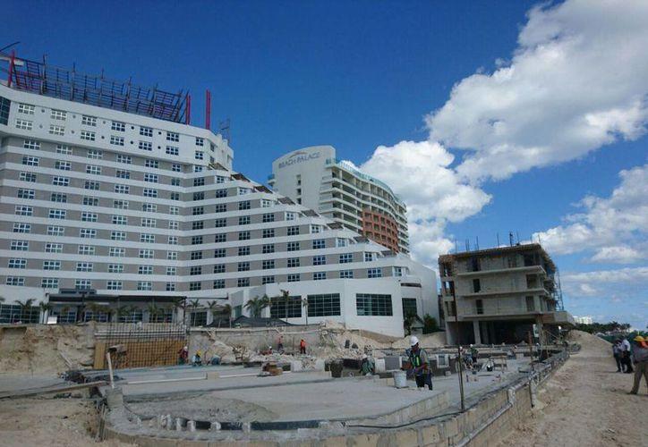 Los trabajos se realizan en el hotel Me By Meliá. (Redacción)