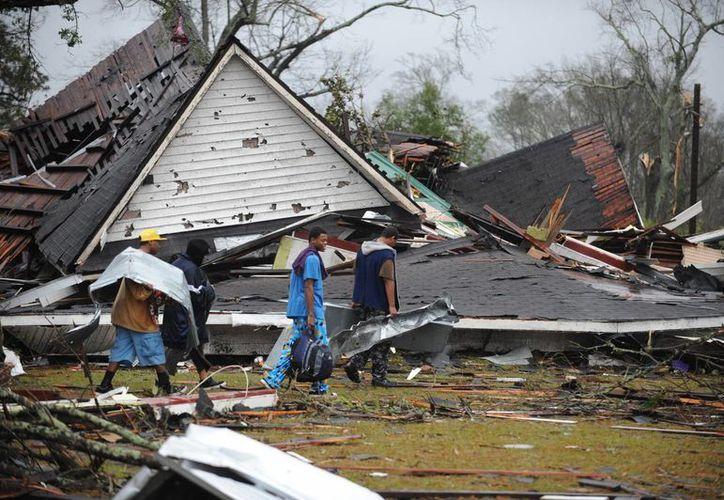 Hattiesgurg aún se recupera del paso del tornado. (Agencias)
