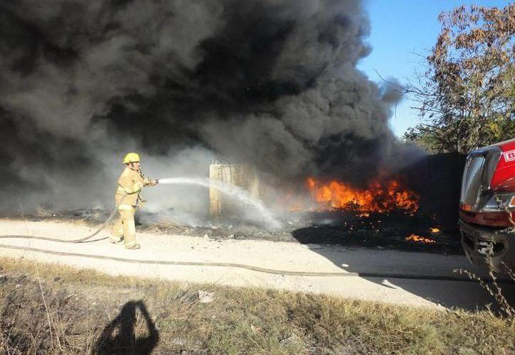 Las temperaturas serán calurosas a muy calurosas durante el día, por lo que bomberos se mantendrán alerta en caso de incendios. (SIPSE)