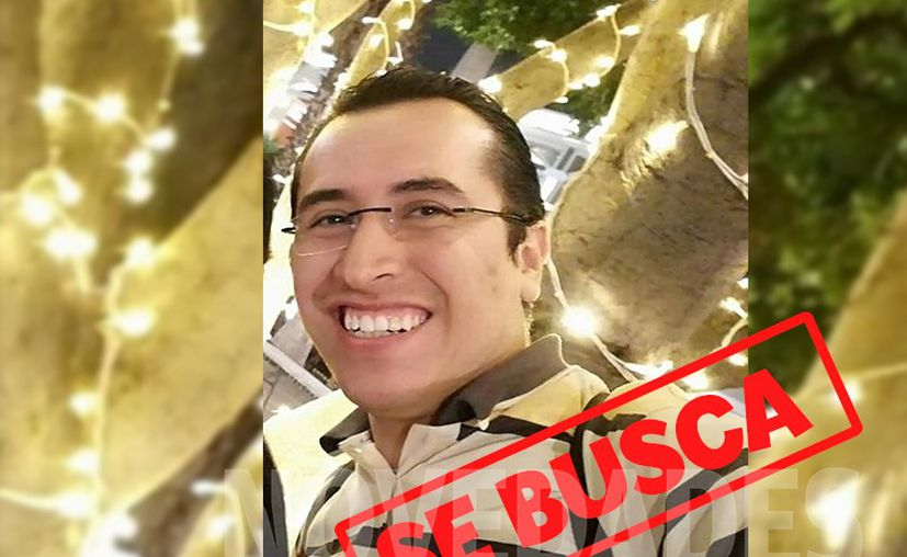 No se sabe el paradero de Rubén Méndez Ortiz, quien vestía pantalón de mezclilla azul y playera polo con la leyenda Fraiche. (Novedades Yucatán)