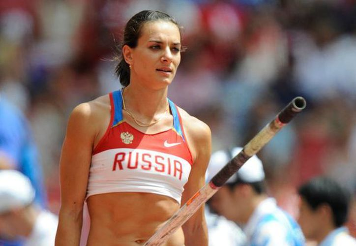 Yelena Isinbayeva todavía tiene ambición por un nuevo oro olímpico. Su objetivo es lograrlo en Río de Janeiro en 2016. (olympic.org/Foto de archivo)