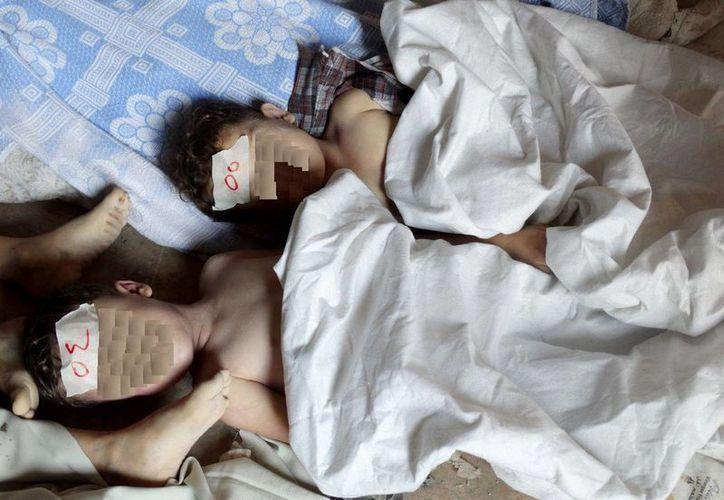 Los niños han sido las principales víctimas de la guerra en Siria. (Agencias)
