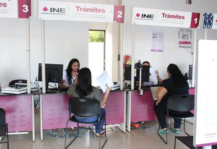 INE plantea trabajar con varias institutos. (Milenio Novedades)
