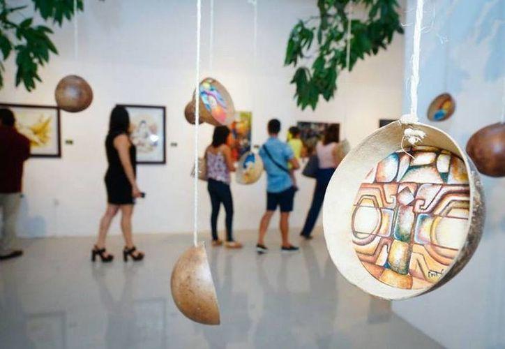 Las exposiciones, recién inauguradas, serán exhibidas durante dos semanas en el Museo de la Cultura Maya. (Redacción/SIPSE)
