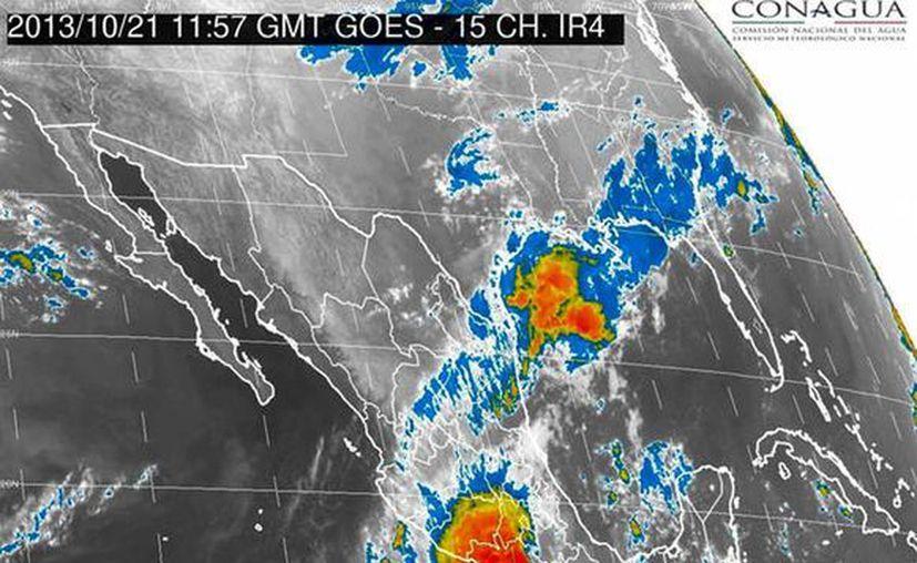 El secretario de Gobierno de Michoacán informó que desde el domingo  fueron activados los protocolos de seguridad ante el huracán Raymond. (Notimex)