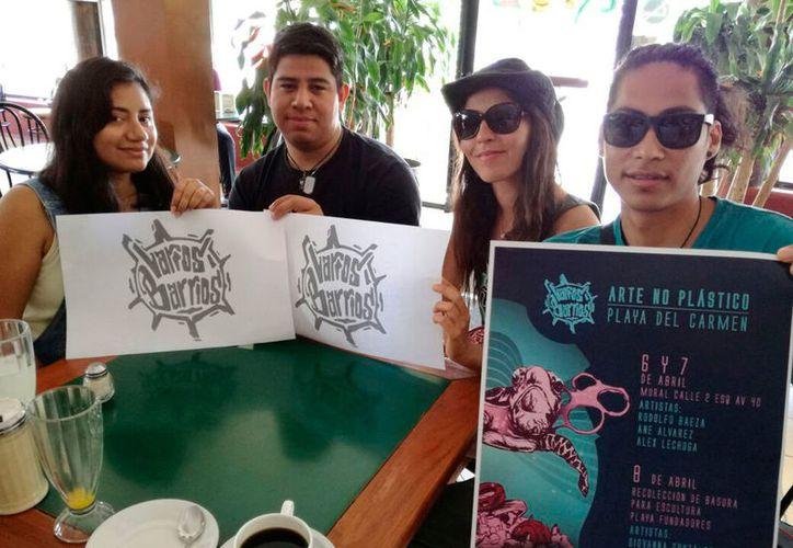 Las actividades forman parte del proyecto de arte urbano Varios Barrios, que busca generar conciencia en la comunidad. (Adrián Barreto/SIPSE)