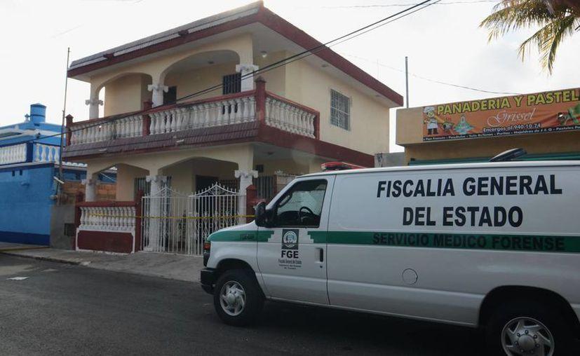 La casa donde en 2013 ocurrió el sonado crimen, en el oriente de la ciudad. (Archivo/ SIPSE)