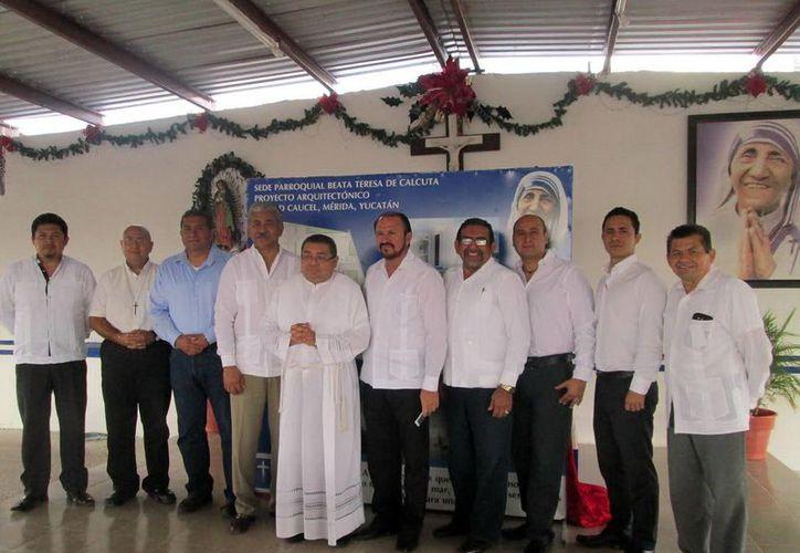 El Patronato tiene como primer fin consolidar la construcción de la parroquia Teresa de Calcuta en Ciudad Caucel. (SIPSE)