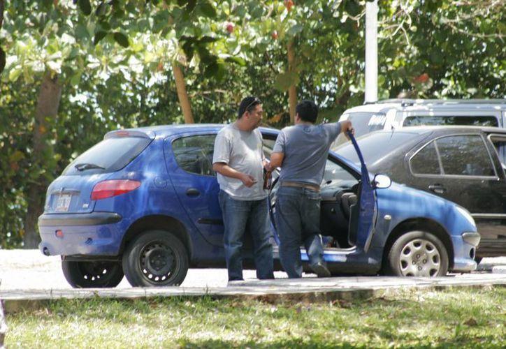 """El bulevar se ha convertido en un """"punto ciego"""" para las autoridades. (Enrique Mena/SIPSE)"""