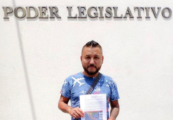 """El diputado Pedro Carrizales Becerra, """"El Mijis"""", anunció sus intenciones de crear su propio partido político. (Twitter/@mijisoficial)"""