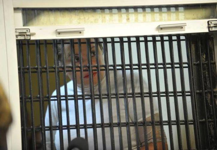 Elba Esther Gordillo se había amparado contra el proceso penal por defraudación fiscal por 2 millones 100 mil pesos, pero ese amparo ya de nada le sirve ahora. (Notimex/Foto de archivo)