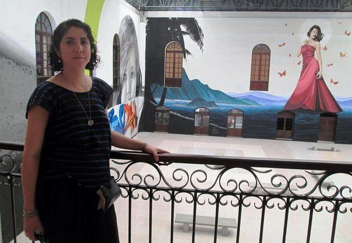 Carolina Jiménez destacó que el vestuario es el centro del espectáculo. (Milenio Novedades)