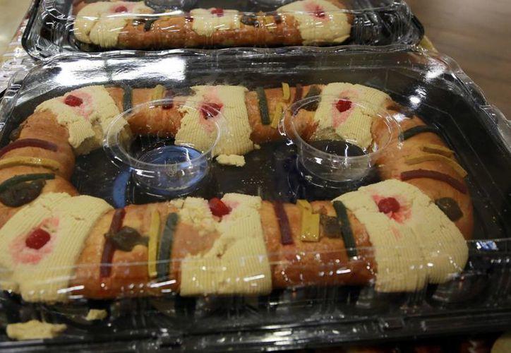 Las roscas están listas para su venta. (Luis Soto/SIPSE)