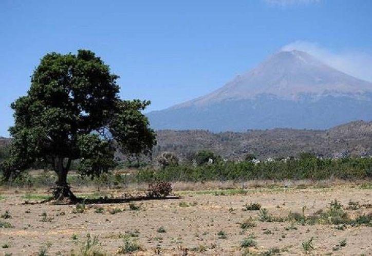 El Semáforo de Alerta Volcánica en torno al Popocatépetl se encuentra en Amarillo Fase 2. (Milenio)
