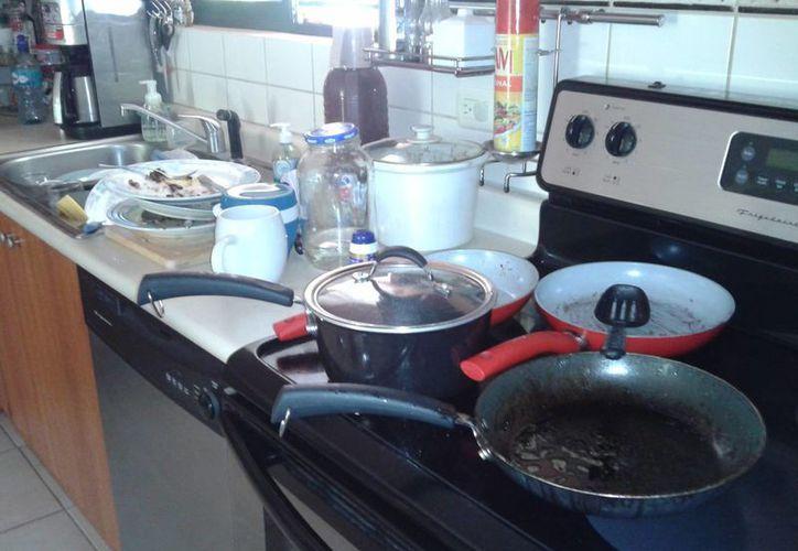 Varios objetos se cayeron en la cocina de forma inexplicable, lo que despertó el temor de una familia progreseña. La imagen cumple funciones estrictamente referenciales. (micasaorganizada.com)