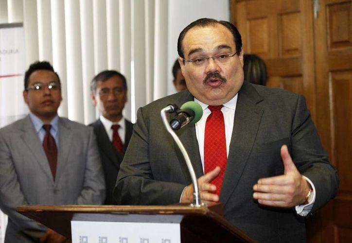 Jorge Carlos Ramírez Marín, titular de la Sedatu, fue el encargado de recabar opiniones, experiencias y propuestas de los habitantes de Jalisco. (Notimex)
