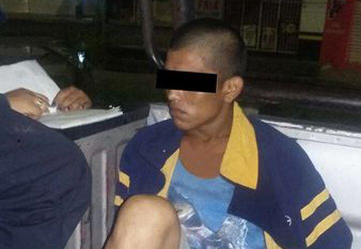 La rapida acción de las autoridades dieron con su captura. (Redacción/SIPSE)