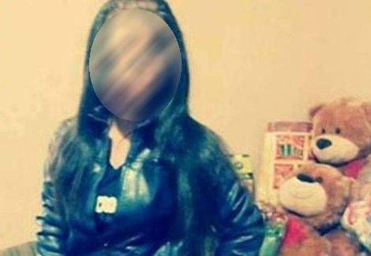 Casandra Guadalupe fue reportada como desaparecida a través de las redes sociales. Su rostro ha sido difuminado por discreción. (Milenio)