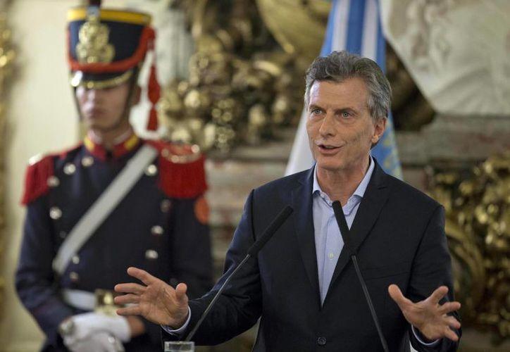 El presidente Macri asegura que pronto Argentina vivirá un proceso de 'crecimiento inédito'. (AP)
