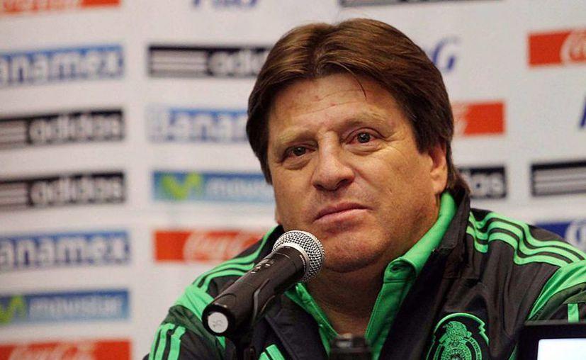 Miguel Herrera tiene planes de empezar de cero rumbo al Mundial Rusia 2018. (Notimex)