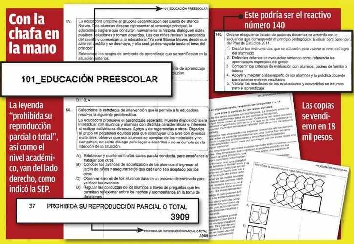 La SEP sostiene que no se aplicarán en Yucatán las preguntas de las fotocopias que se vendieron. (SIPSE)