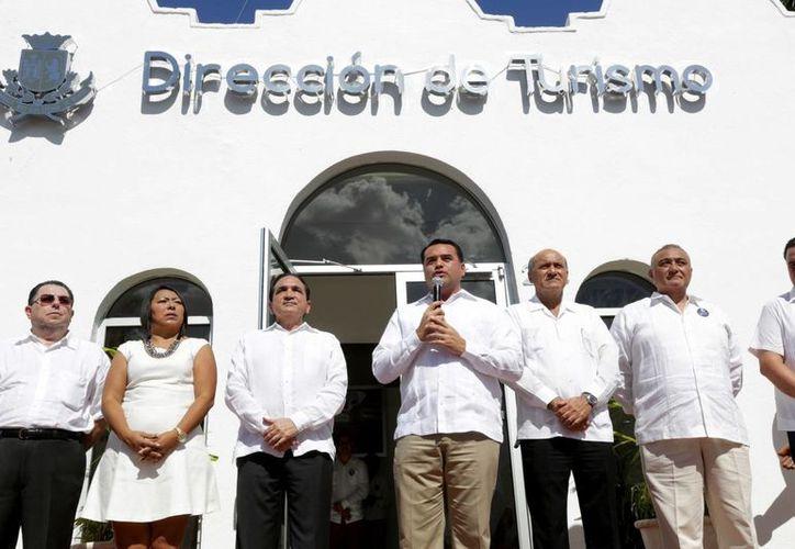 La nuevas oficinas de la Dirección de Turismo se ubican en la Avenida del Deportista. (SIPSE)