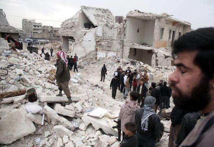 El combate entre rebeldes y gobierno de Siria se han concentrado en al ciudad de Alepo. (EFE)