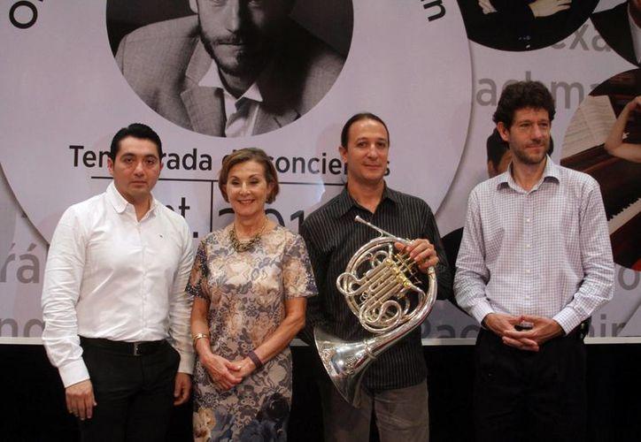 Imagen de la presentación del concierto de la Orquesta Sinfónica de Yucatán para este fin de semana. (Milenio Novedades)
