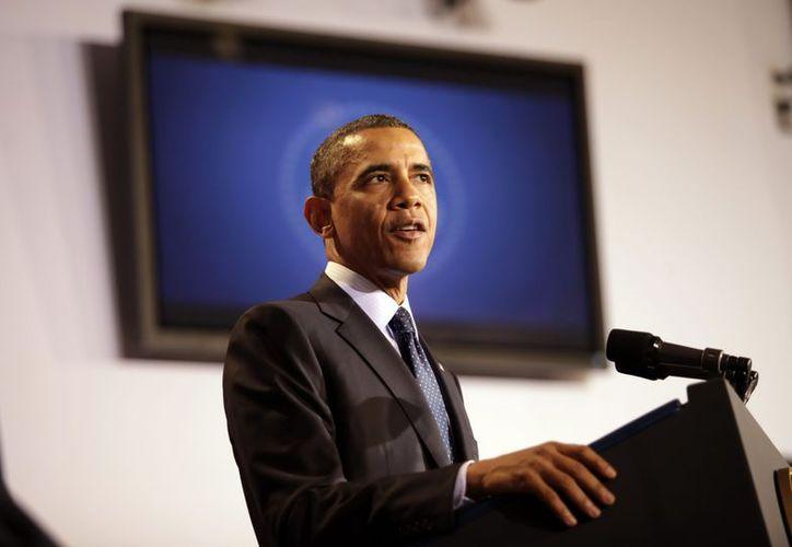 La administración de Obama mandó una carta al Congreso para hacer la solicitud. (EFE)