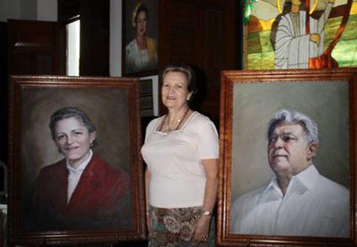 Imagen de Elena Fernández Moral, Presidenta del Museo de la Canción Yucateca A. C., a quien se le rendirá un homenaje en el marco del programa de 'Serenata Yucatán'. (Jorge Acosta/SIPSE)