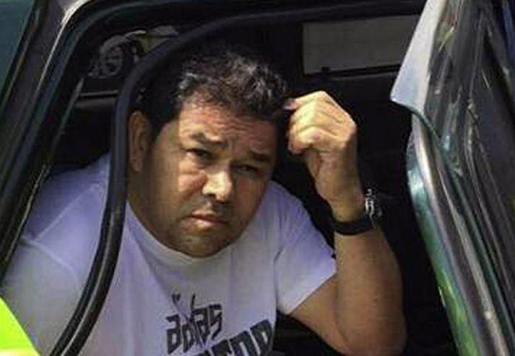 """José Elber Merchán Cortés, alias """"El Alcalde"""", fue detenido en el departamento colombiano de La Guajira. (EFE)"""
